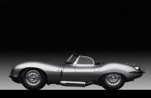 """JAGUAR XKSS, 1958 from Ralph Lauren's personal collection now on exhibit  """"The Art of the Automobile"""""""