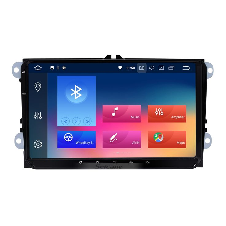 Seicane 9 inch Android 8.0 Radio Car Navigation Head Unit for 2008-2013 VW Volkswagen Passat Tiguan Polo Scirocco with 3G WiFi Mirror Link OBD2 Bluetooth Steering Wheel Control