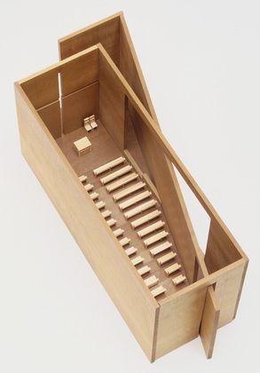 Church of the Light, Ibaraki, Osaka, Japan. 1984-89 | moma collection | model by Tadao Ando