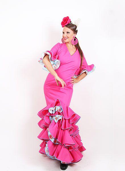 Trajes de flamenca 2015 de la talla 50 a la 56  http://www.elrocio.es/41-trajes-de-flamenca-baratos #trajesdeflamenca #trajesdeflamenca2015