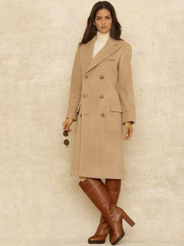 ddfe7488a8dc Lady Polo Coat - Blue Label Outerwear - RalphLauren.com