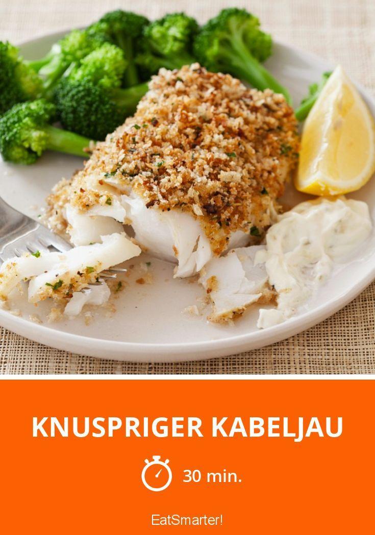 Knuspriger Kabeljau - smarter - Zeit: 30 Min. | eatsmarter.de
