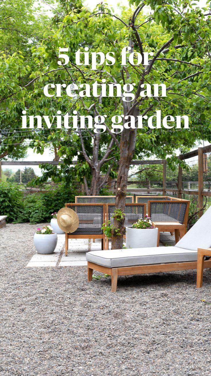 Small Backyard Design, Small Backyard Landscaping, Backyard Garden Design, Backyard Ideas, Porch Ideas, Patio Ideas, Landscaping Design, Small Patio, Diy Garden Furniture