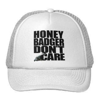 Honey Badger Don't Care Hat