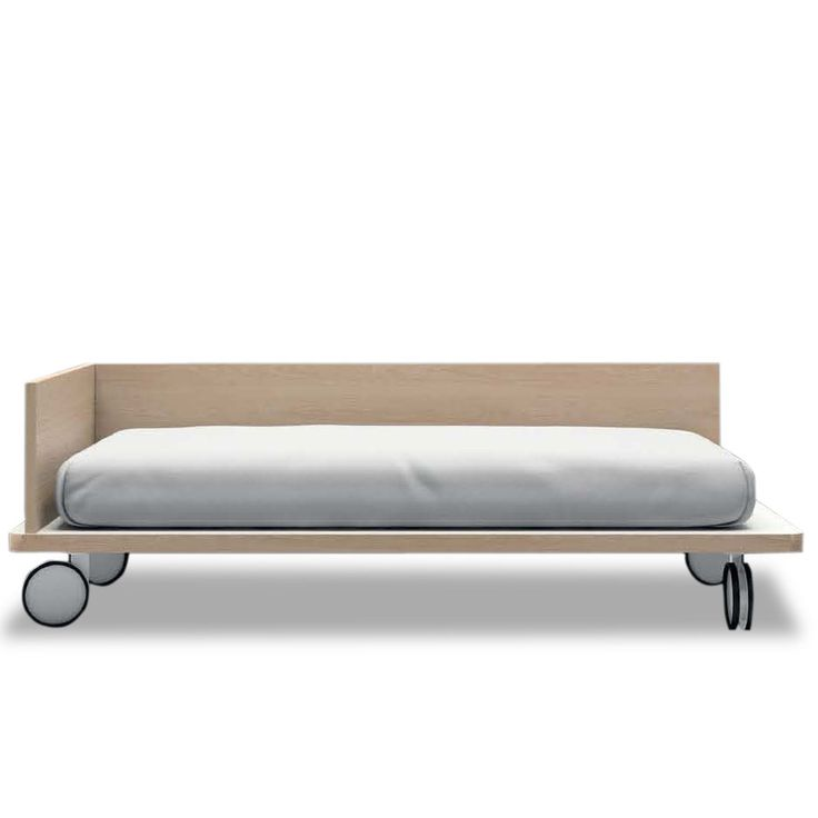 Toddler Platform Bed With Wheels Imported From Spain And