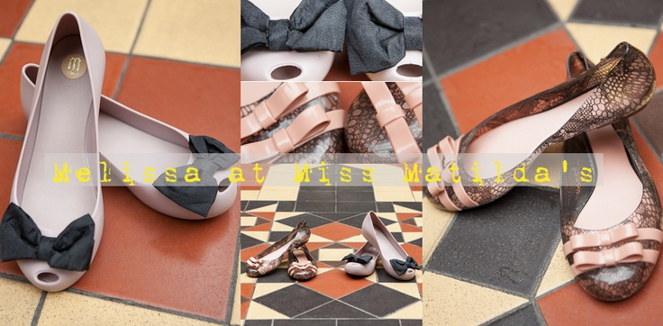 Our Melissa shoes AW12 collection from our pretty online boutique.