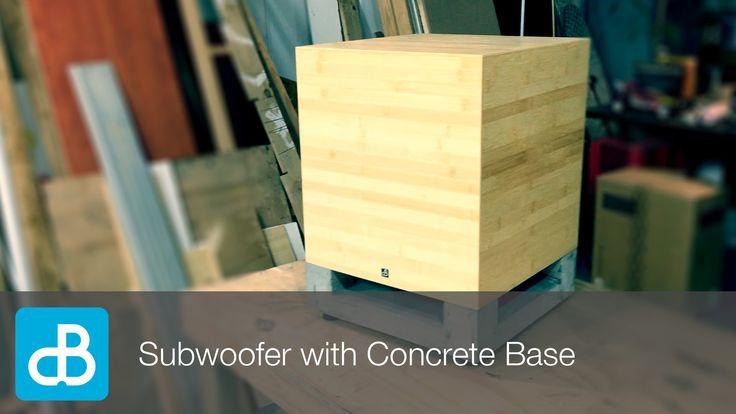 DIY Subwoofer Build with Concrete Base - by SoundBlab