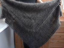 Russischer Schal, Orenburger Schal, Flaum Ziege