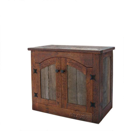 rustic barnwood wall cabinet custom rustic furniture by don mcaulay rustic tv lift cabinet 2