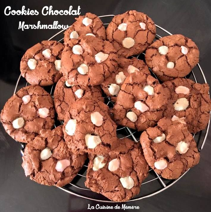 Gateau chocolat marshmallow biscuit
