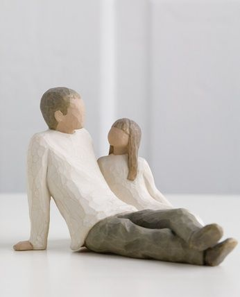 Father and Daughter – Willow Tree figurine.. Feeling sentimental got my daddy one too