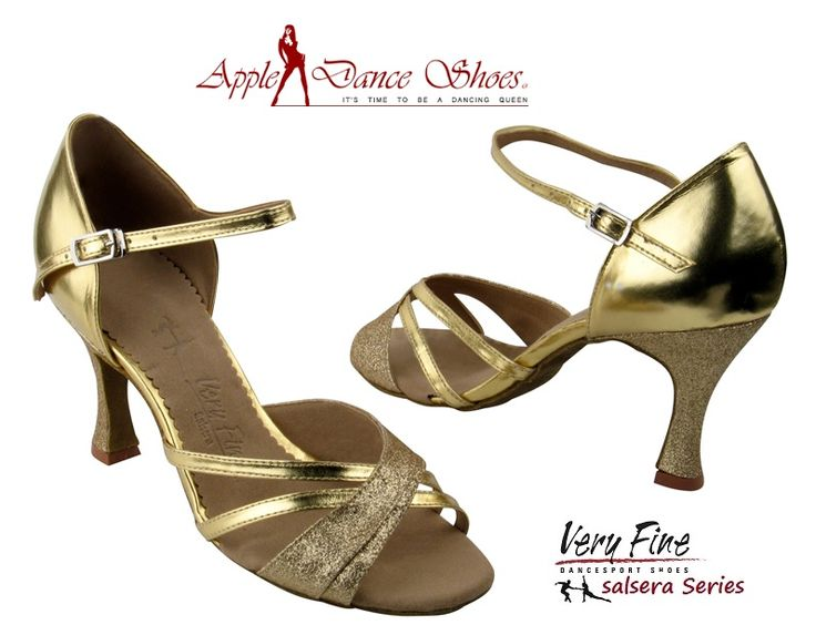 SERA6030 Gold Stardust & Gold **Also available in Silver Stardust & Silver, SERA6030 Dark Tan Satin, & SERA6030 Black Satin** Appledanceshoes.com