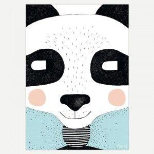Big Panda Wall Art Print - Art Prints for Kids