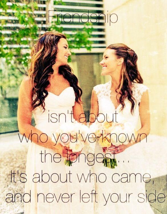 Best friend wedding day quote | Quotes | Pinterest