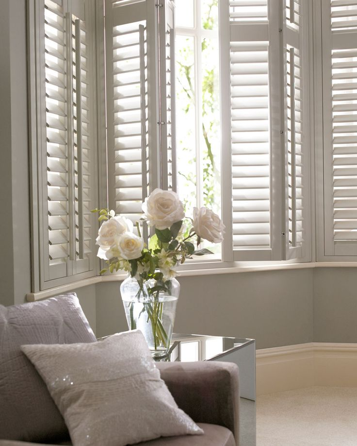 Best 25 window shutters ideas on pinterest farmhouse for Should plantation shutters match trim