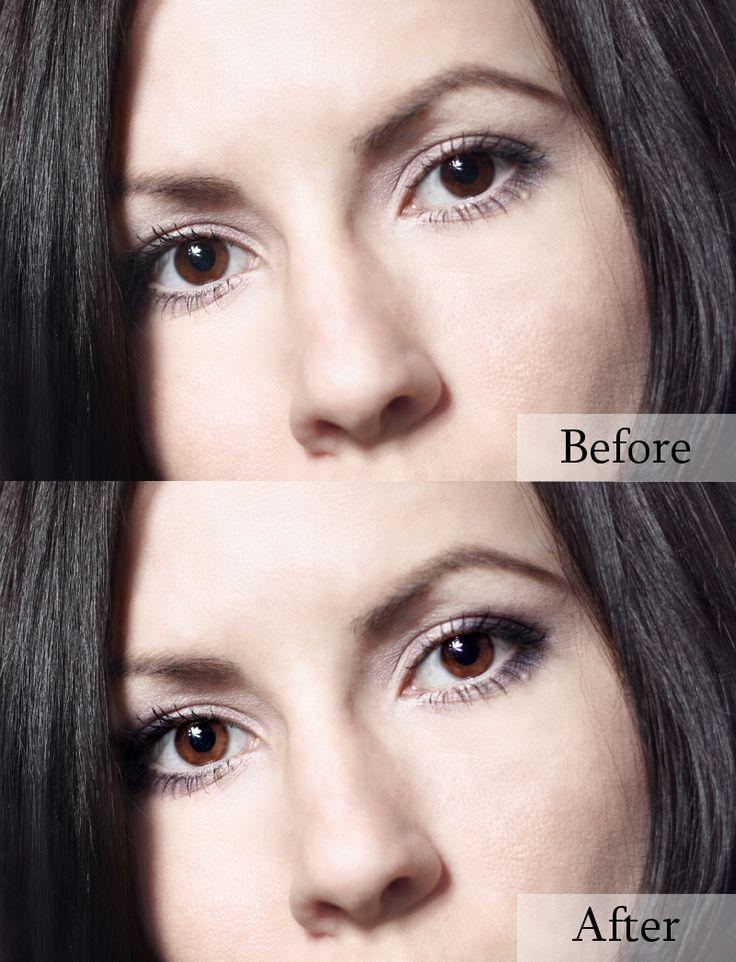 Enhancing eyes in GIMP 2.8 tutorial