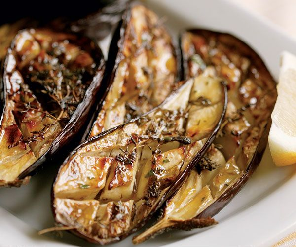 Oven-Roasted Eggplant with Thyme is one of my favourite recipes for eggplant.