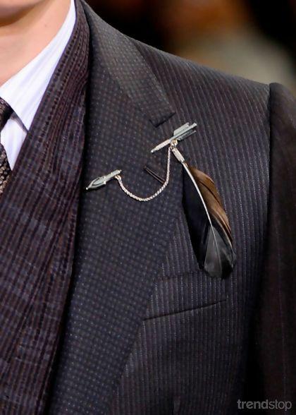 Man's pin