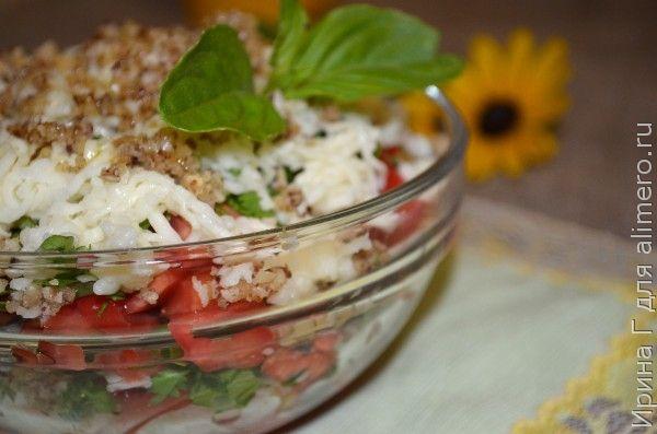 салат из помидоров рецепт