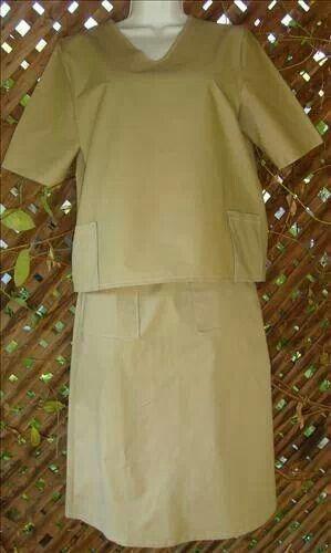 Modest Clothing Scrubs Skirt Set Apostolic Clothing