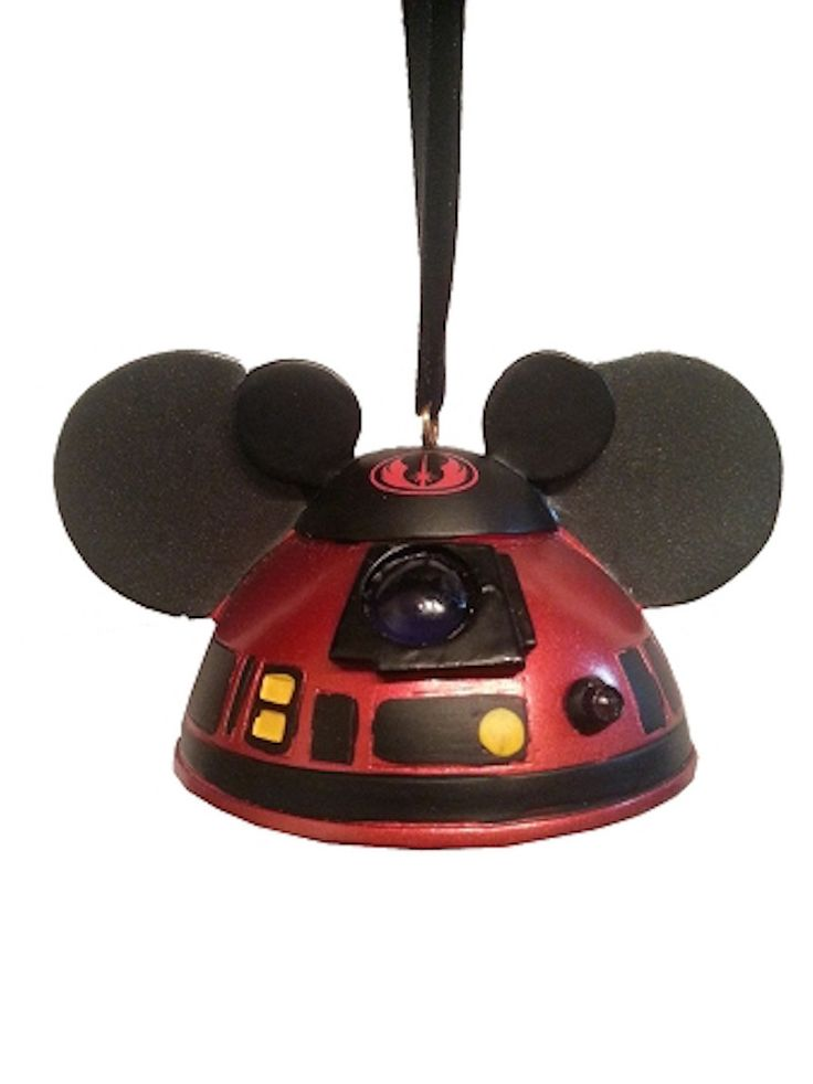 Disney Parks Ear Hat Christmas Ornament Star Wars R2 Mk
