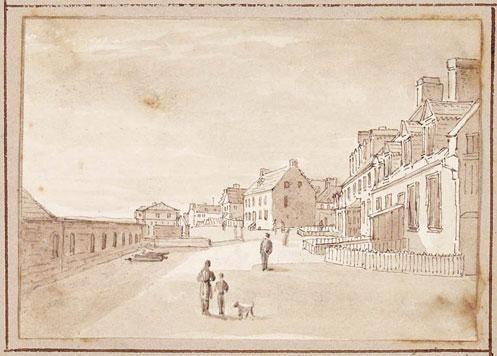 Maison Louis-Joseph-De Montcalm. Montcalm's House, Quebec (ca 1822-1832), James Pattison Cockburn
