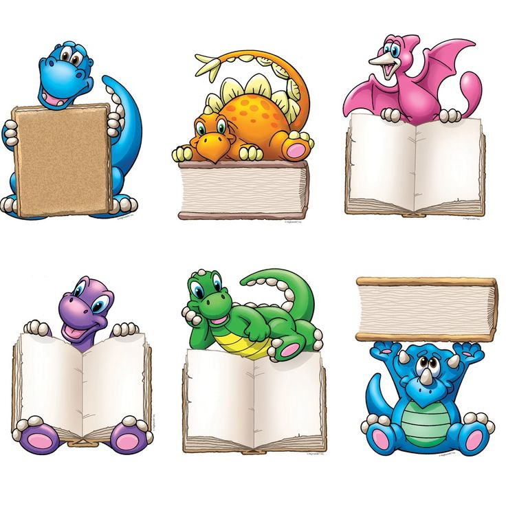 Dino-mite Readers   Accent Cards