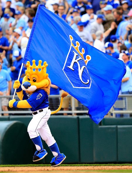 Sluggerr - Kansas City Royals' mascot