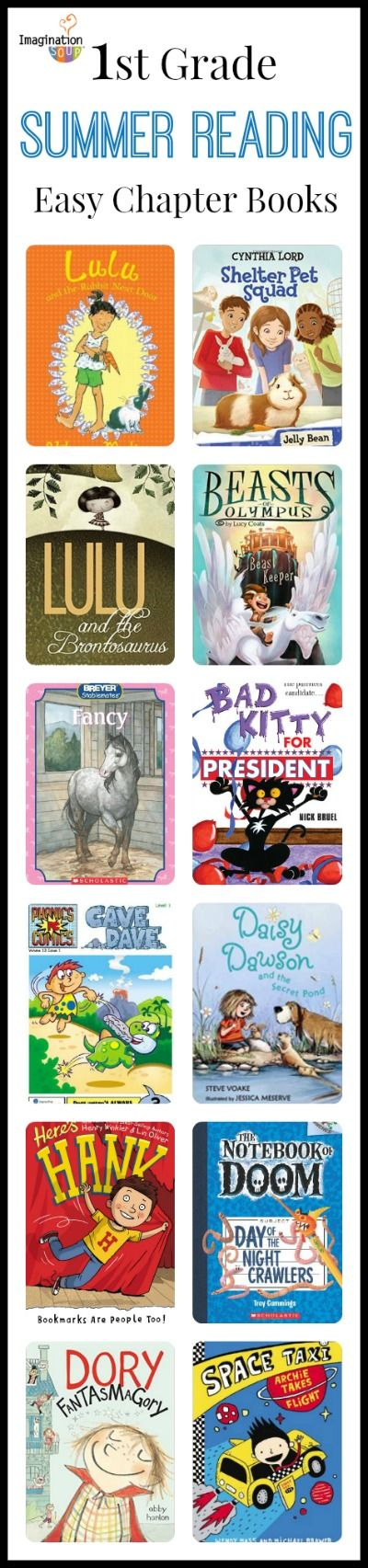 ordering books now! -- 1st grade summer reading list