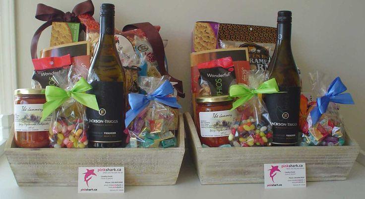 GORGEOUS GIFT BASKETS - pinkshark.ca http://www.pinkshark.ca/