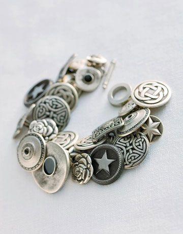 button bracelet jewelry