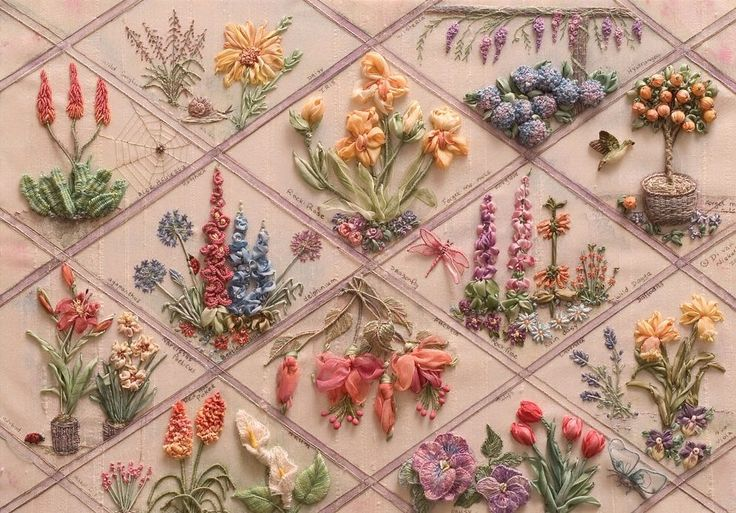 This stumpwork tutorial collection will teach you multiple ways to use simple or complex stumpwork in your embroidery projects.