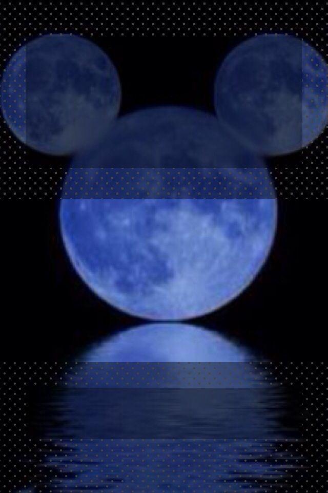 Mickey moon lock screen for iphone | Disney iPhone wallpaper ...