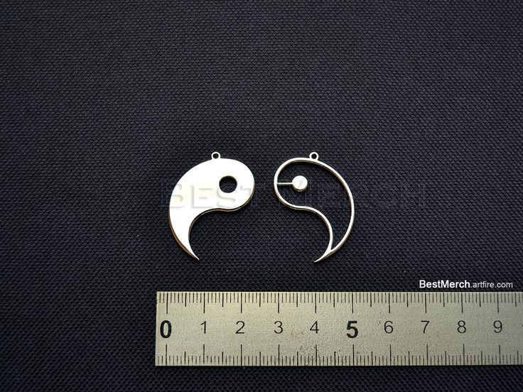 Yin and Yang Necklace Stainless Steel Pendant Logo Symbol Merch