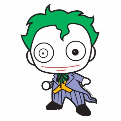 Chibi Joker Photo Sculpture