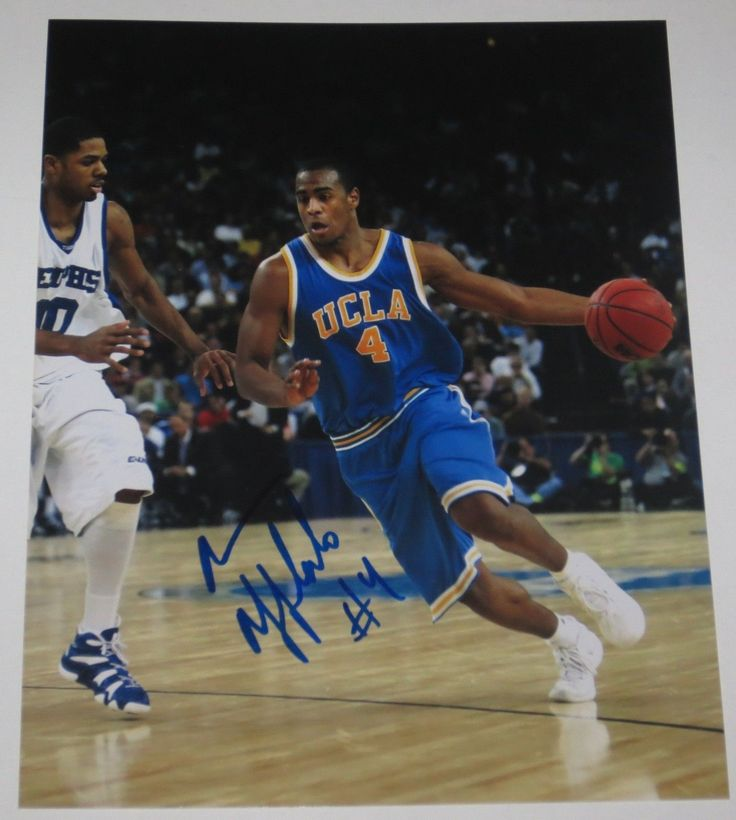 ARRON AFFLALO SIGNED 8X10 PHOTO AUTHENTIC AUTOGRAPH UCLA BRUINS NBA MAGIC COA A