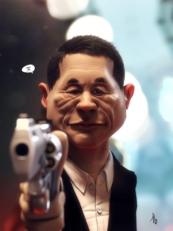 Takeshi on Behance
