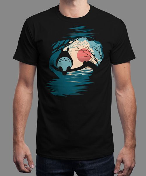 """""""Sunrise"""" is today's £8/€10/$12 tee for 24 hours only on www.Qwertee.com Pin this for a chance to win a FREE TEE this weekend. Follow us on pinterest.com/qwertee for a second! Thanks:)"""
