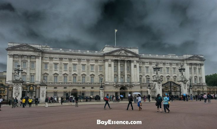 The Buckingham Palace - Londres: el desafío de las 20 horas #AtoZChallenge