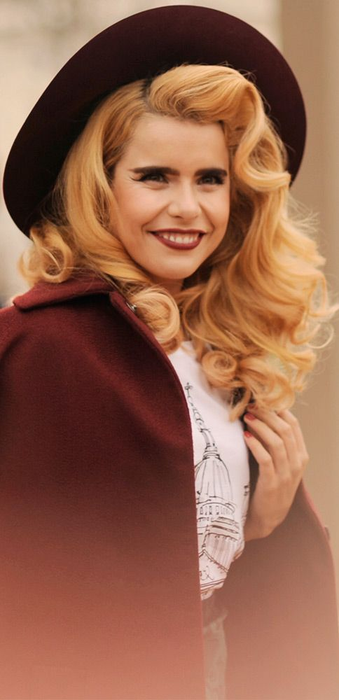 British musician Paloma Faith wearing Burberry ahead of her live ...