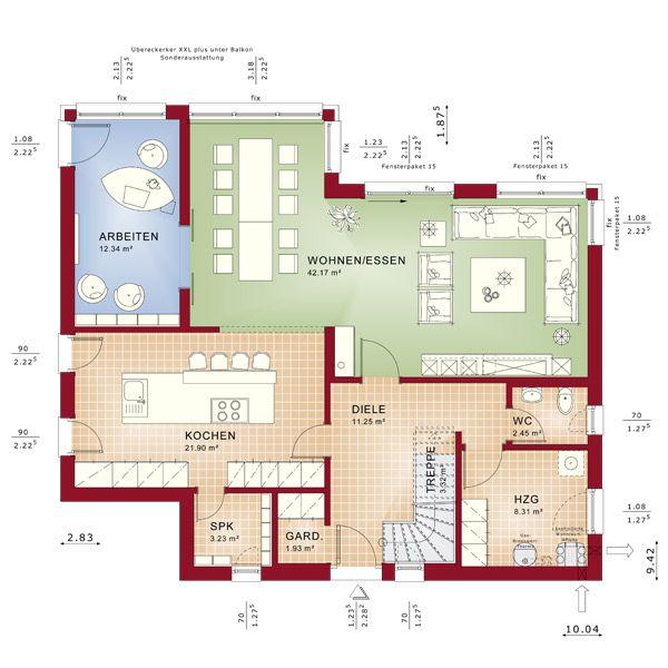 Bien Zenker - Häuser - Fertighäuser - Hauslinie - Evolution - Evolution 154 V11
