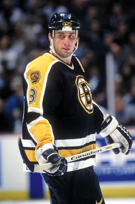 Cam Neely (1986-1996). In 1991, in 49 games, he scored 50 goals. That is absolutely unheard of and the only players, as of 2010, who had accomplished this feat were Mike Bossey, Wayne Gretzky, Mario Lemieux, Maurice Richard and Brett Hull. Cam sure was a Big Bad Bruin.