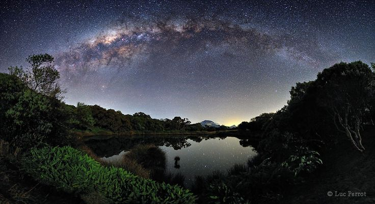 Milky Way over Piton de l'Eau: Water, Of Water, Photographer, Milkyway, Space, Reunion Island, Milky Way