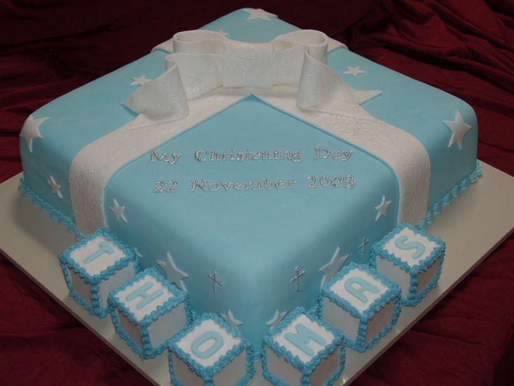Cake Design For Christening : Christening Cakes - http://cakesmania.net/christening ...