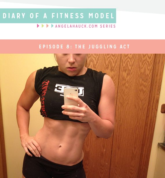 Diary of a Fitness Model Episode 8: The Juggling Act