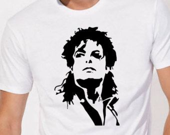 Michael Jackson camisa para hombre Michael Jackson t camisa mujer tee camiseta camiseta Michael Jackson de Michael Jackson arriba Michael Jackson vestir ropa