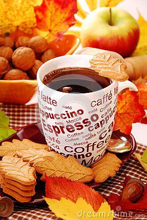 Поздравительная открытка Приходи на утренний воскресный кофе просто так, без приглашенья, приходи