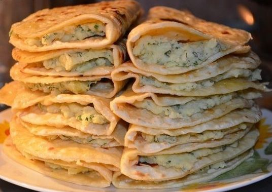 Кыстыбай – вкусные  лепешки с картофелем