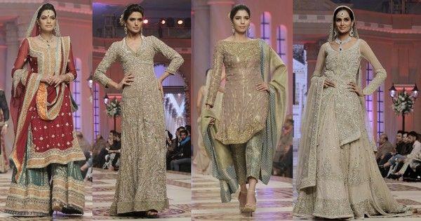 Pakistani Bridal Wear Collection By Bunto Kazmi
