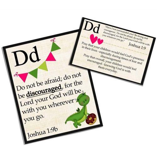 a to z prayer cards